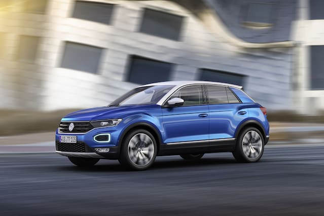 Volkswagen lifts the lid on the T-Roc