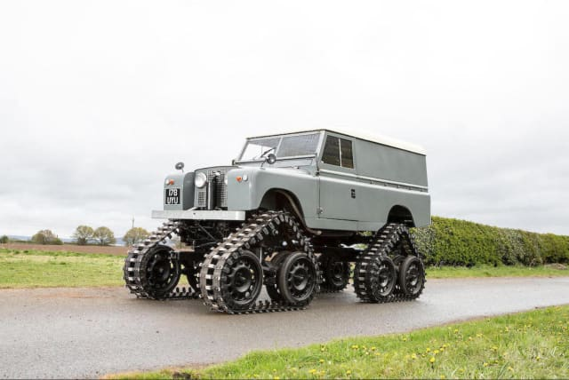 Tracked Series II Land Rover to go under the hammer
