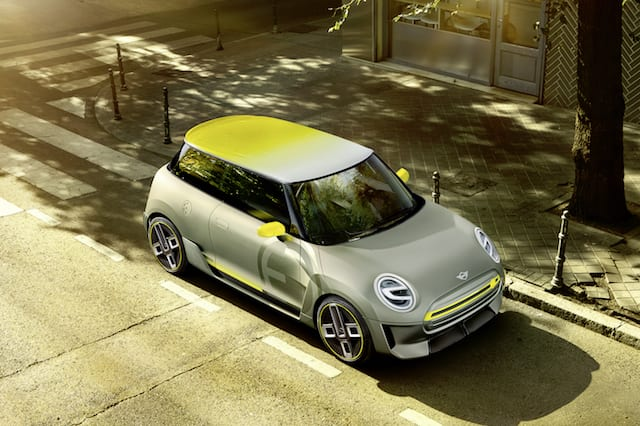 Mini releases details of electric concept