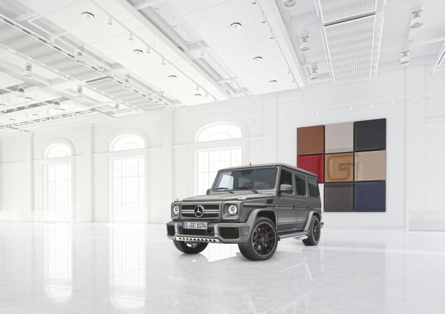 Mercedes-AMG G-Class Exclusive Editions heading to Frankfurt Motor Show