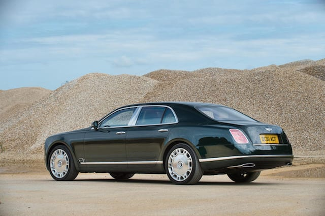 Queen's old Bentley Mulsanne fails to sell at auction