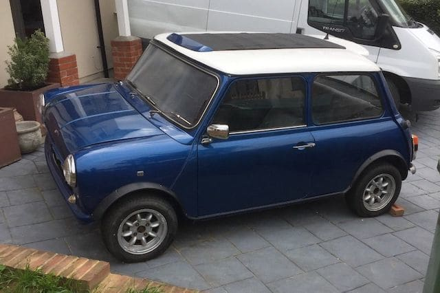'Wideboy' Mini goes up for auction