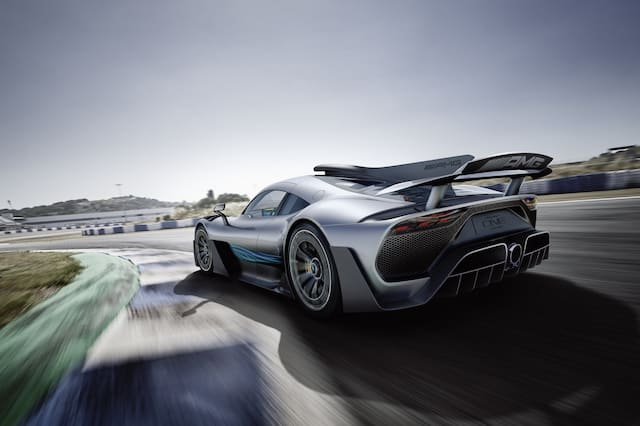 Mercedes-AMG unveils Project ONE at Frankfurt Motor Show