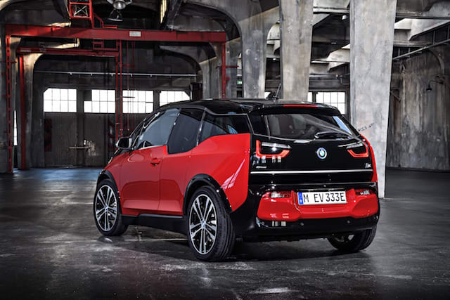 BMW i3s unveiled at Frankfurt