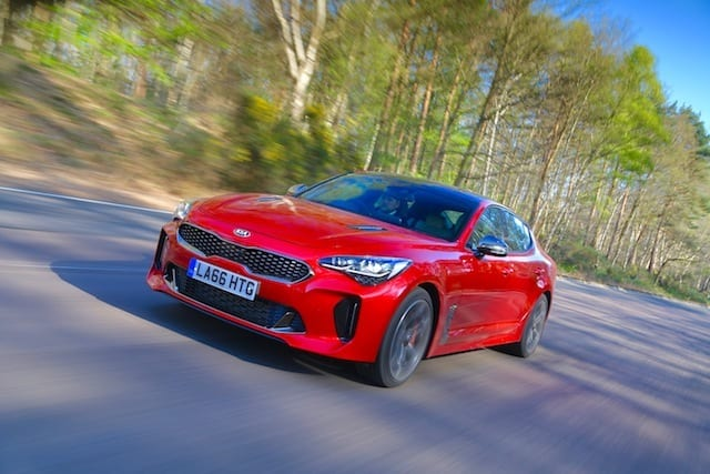 New Kia Stinger priced from £31,995