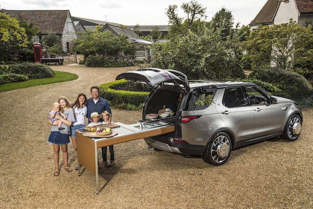 Land Rover Discovery - the ultimate kitchen