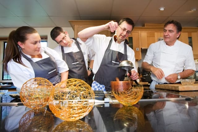 Britain's best hotels with cookery courses