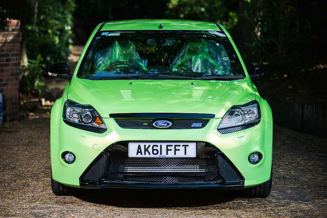 Ford Focus RS with just 18 miles ready to go under the hammer