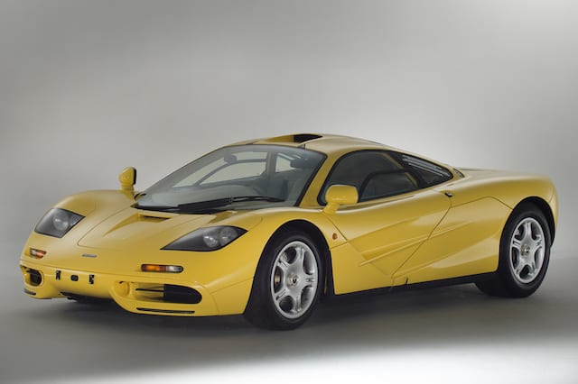 Immaculate McLaren F1 heads to auction