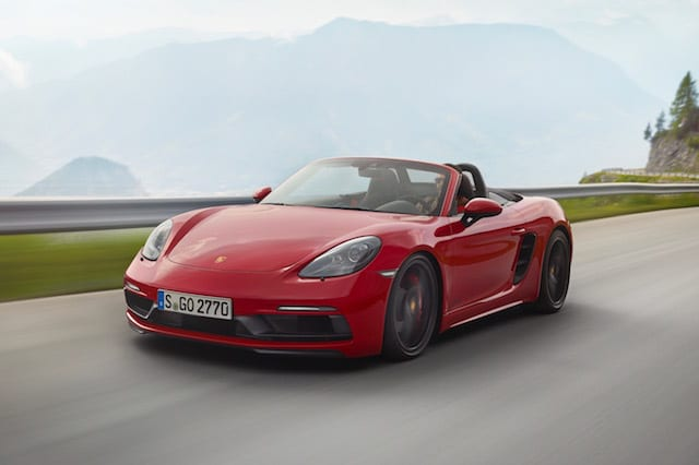 Porsche lifts the lid on new GTS versions of the 718 Boxster and Cayman