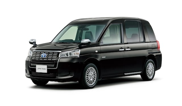Toyota's new JPN taxi takes on the London black cab
