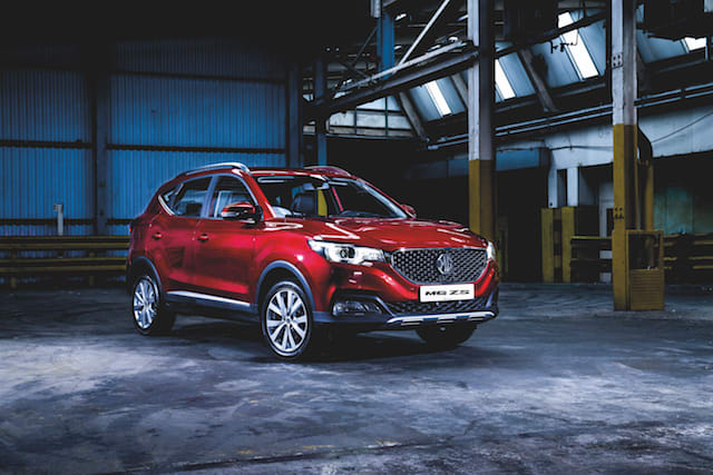 MG ZS launches in the UK