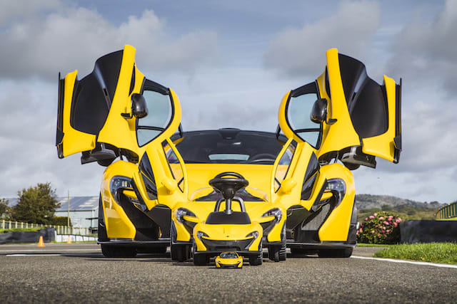 McLaren launches its slowest model yet - a foot-powered P1