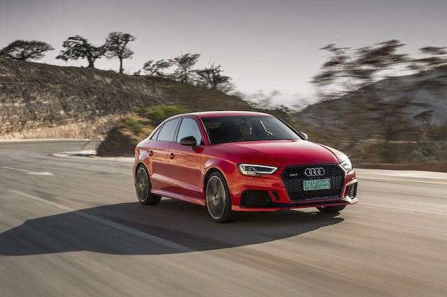 Audi RS3 saloon review