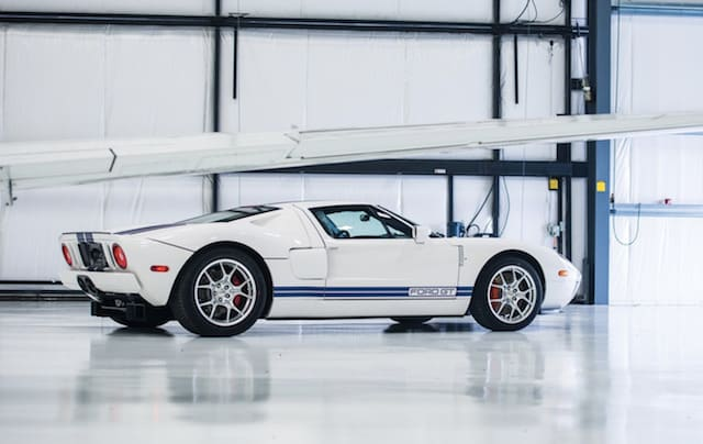 2006 Ford GT with just 10 miles on the clock is up for sale