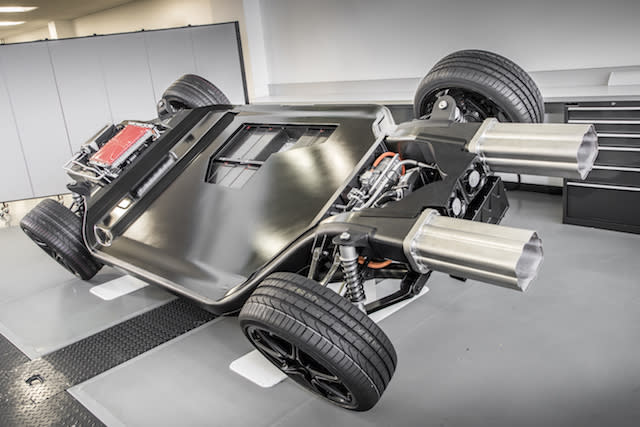 Williams shows off platform for electric supercars of the future