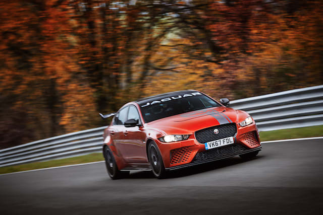 Jaguar XE SV Project 8 sets new Nurburgring record