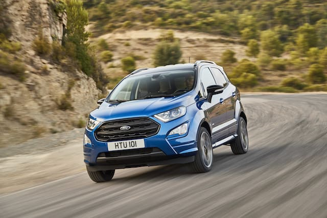 New Ford EcoSport SUV debuts new engines and stylish ST-Line trim