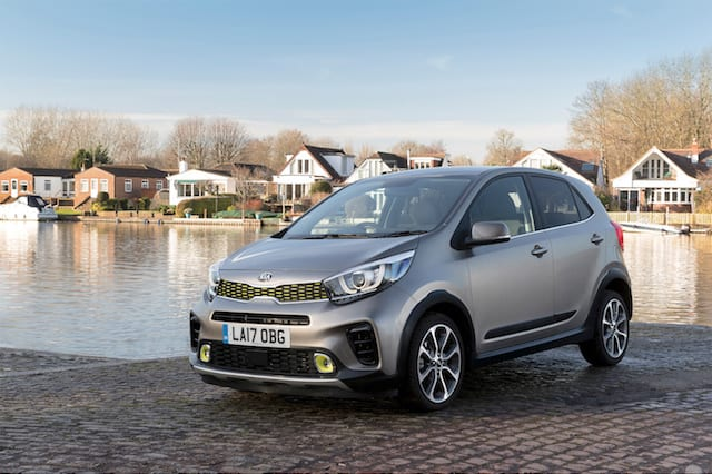 Picanto X-Line adds rugged styling to Kia's baby