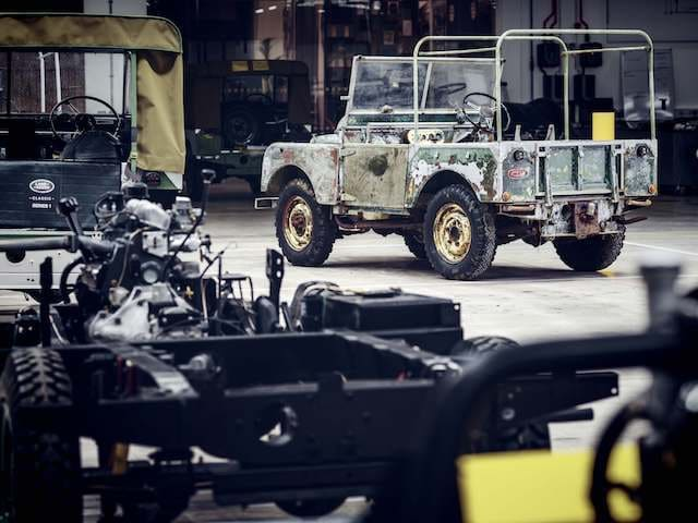 Land Rover begins 70th anniversary celebrations by restoring original show car