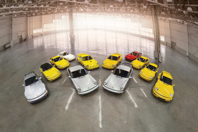 Porsche 964 collection heads to auction