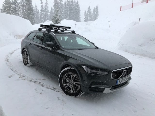 Our Volvo takes on the white stuff and wins