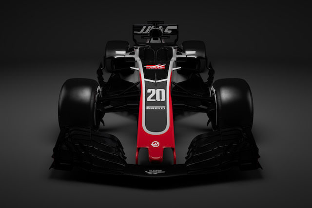 First F1 car revealed with new 'Halo' system