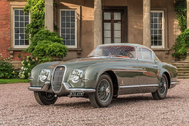 One-off classic Jaguar visits London for the first time