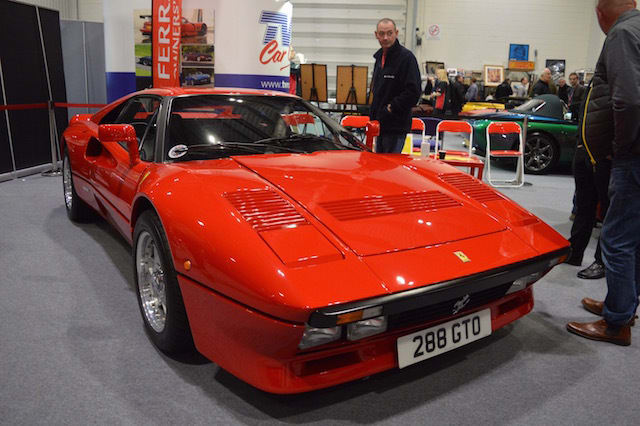 The cars of the London Classic Car Show