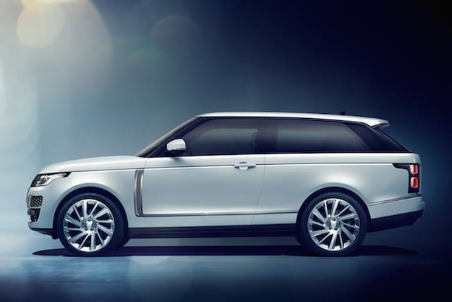 Land Rover unveils two-door Range Rover SV Coupe at Geneva Motor Show