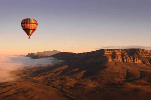 Up, up and away! Beautiful balloon trips all over the world