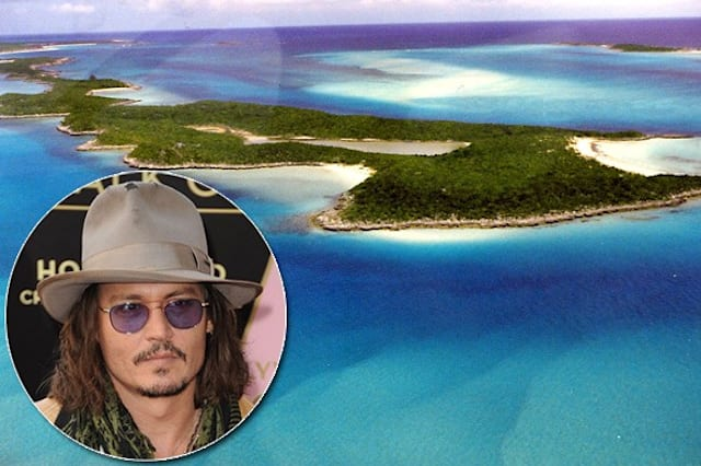 Celebrities with private islands