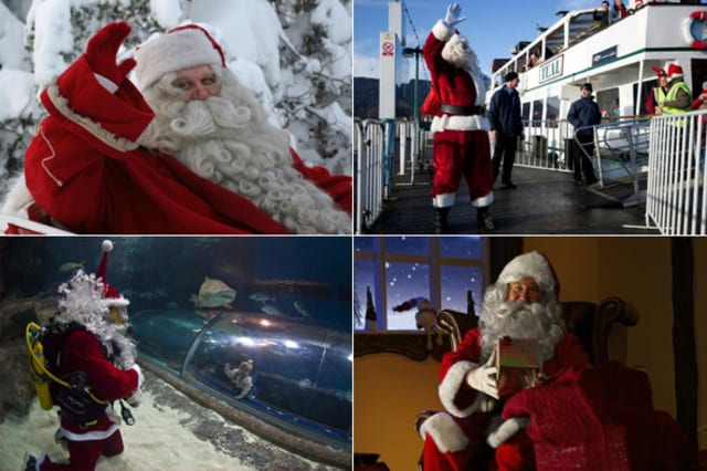 Top ten places to see Santa this Christmas