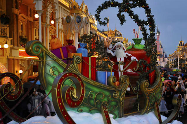 In pictures: Disneyland Paris 20th anniversary Christmas