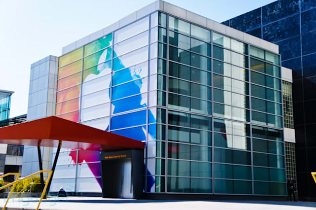 Apple's next-gen iPad launch event at Yerba Buena Center for the Arts