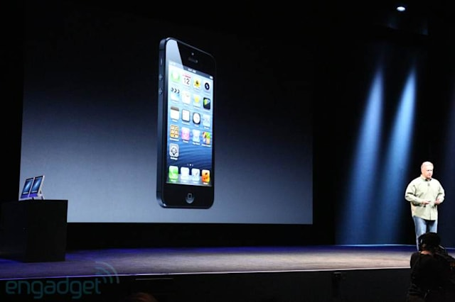 iPhone 5 in Black and White