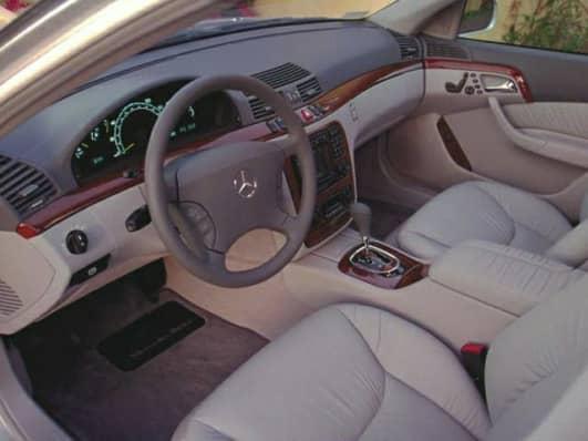 Mercedes s class 2001 interior images for 2001 mercedes benz s500 specs