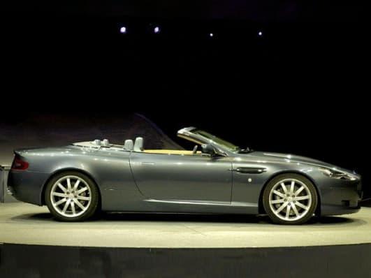 Aston Martin DB Volante Convertible Pricing And Options - Aston martin convertible price