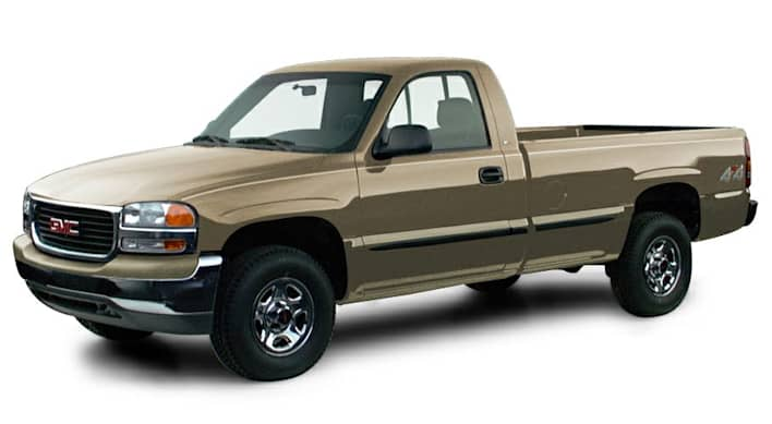 2000 gmc sierra 1500 sl 4x4 regular cab 8 ft box 133 in wb pricing and options. Black Bedroom Furniture Sets. Home Design Ideas