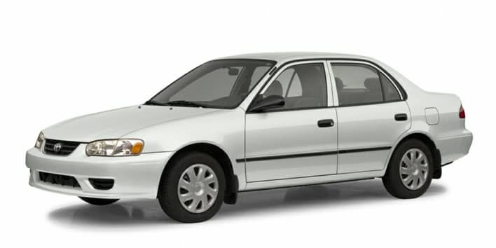 2002 Toyota Corolla CE 4dr Sedan Specs and Prices