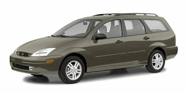 2003 Ford Focus Ztw 4dr Station Wagon Equipment