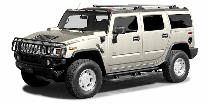 2003 HUMMER H2 Base 4dr All-wheel Drive Pricing and Options