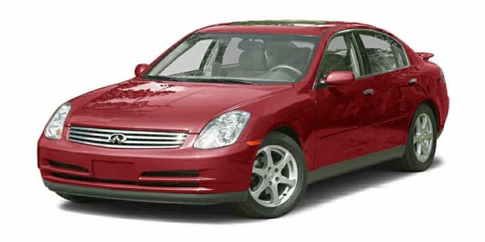 2003 INFINITI G35 Base w/6 Speed Manual 4dr Sedan Pricing ...