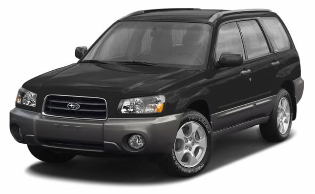 Subaru Dealers In Ct >> 2003 Subaru Forester XS 4dr All-wheel Drive Pricing and Options
