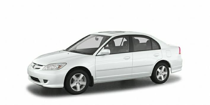 2004 Honda Civic LX 4dr Sedan Specs and Prices