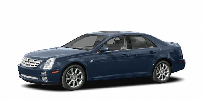 2005 cadillac sts v6 4dr sedan pricing and options. Black Bedroom Furniture Sets. Home Design Ideas