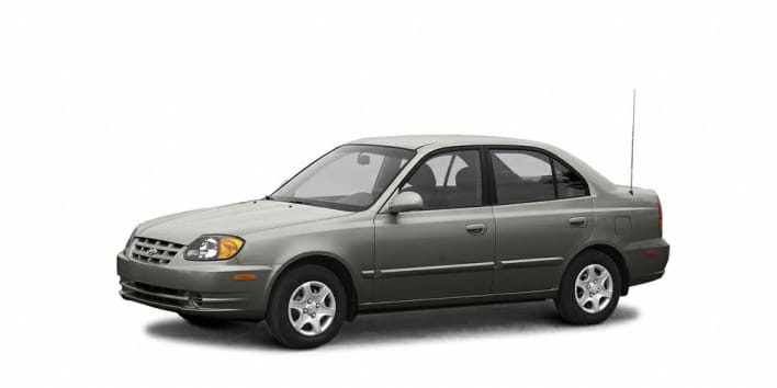 2005 hyundai accent gls 4dr sedan pricing and options. Black Bedroom Furniture Sets. Home Design Ideas