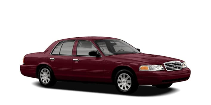2006 ford crown victoria lx sport 4dr sedan pricing and options. Black Bedroom Furniture Sets. Home Design Ideas