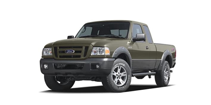2006 ford ranger xl 2dr 4x4 super cab styleside 6 ft box. Black Bedroom Furniture Sets. Home Design Ideas