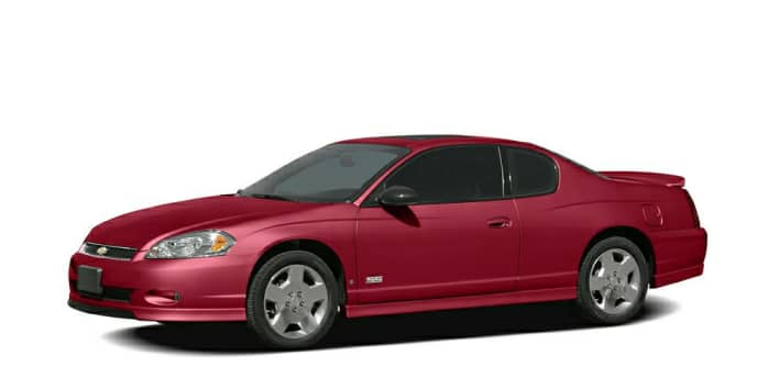 2007 chevrolet monte carlo ls 2dr coupe pricing and options. Black Bedroom Furniture Sets. Home Design Ideas